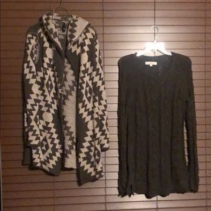 2 Piece Sweater Bundle Lot Size Medium